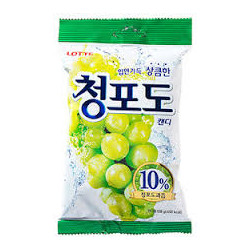 Lotte Green Grape Candy