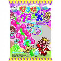 Kracie Popin Cookin DIY Naru Naru Gummy Tree Grape