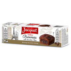 Jacquet Mini Brownie with Chocolate Chips