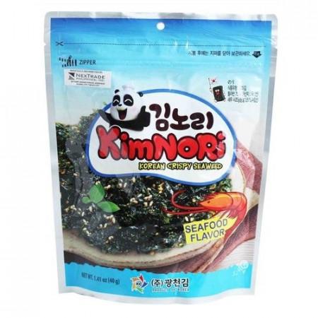 KimNori Korean Crispy Seaweed Seafood