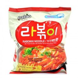 Paldo Hot Rabokki Korean Noodle