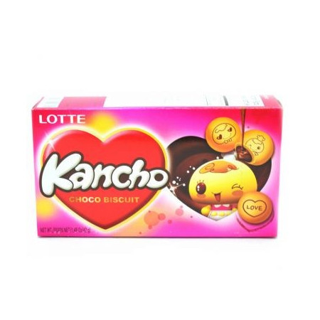 Lotte Kancho Choco Biscuit