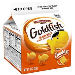 Goldfish Baked Cheddar Box